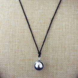 $enCountryForm.capitalKeyWord Australia - Pendant Necklaces (5pc) Wholesale Pregnancy Jewelry Gift Chime Bola Mexican Ball Belly Sounds Pendant Harmony Bola Ball Pendants Necklace