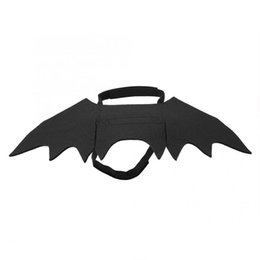 $enCountryForm.capitalKeyWord UK - Cat Costume Accessories Clothes For Cats Pet Dog Funny Clothes Bat Shaped Costume For Halloween Costume Party Cat Party Y19061901