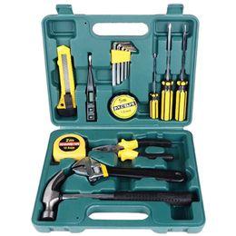 $enCountryForm.capitalKeyWord NZ - THGS 16Pcs Multifuctional Car Repair Tool Kits Screwdriver Wrench Hammer Pliers Combination Household Set Hardware Tool Box