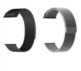 $enCountryForm.capitalKeyWord NZ - Stainless Steel Metal Loop Band Smart Strap for Apple watch 38 40mm 42 44mm iwatch Series 4 3 2 Magnetic adjustable Bracelet 50PCS LOT