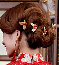 Alloy steel products online shopping - High end fashion jewelry new product listing wedding bridal hair clip custom hairgrips hairpins