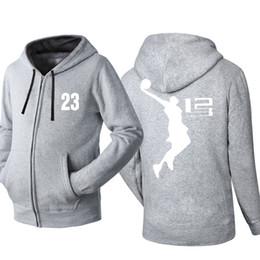 9a8af49e Lebron James Hip Hop Overcoat Sweatshirt For Men Women Unisex Hoodies  Zipper Leisure Sport Jacket Coat Skateboard Streetwear