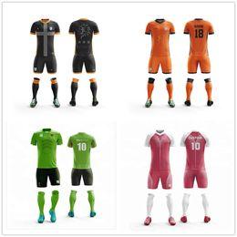13a5d437e 2019 New Children Men Soccer Jerseys Set Blank Football Team Training Suit  Breathable Short Football Uniforms Print