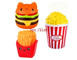 $enCountryForm.capitalKeyWord UK - SquishJumbo Squishies Slow Rising UK Scented Squishy Squeeze Toy Girls Boys Stress Reliever Gift Mix 3pcs 1Lot