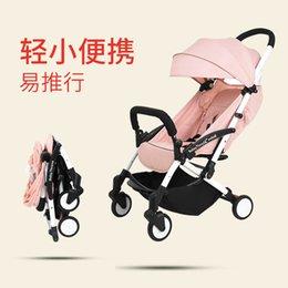 $enCountryForm.capitalKeyWord Australia - 2019 New Lightweight Folding Baby Stroller Can Sit Reclining Car Baby Stroller Portable Carriage