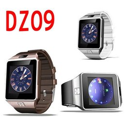 Smart Watches For Windows Australia - Smartwatch Bluetooth DZ09 NFC Smart Watch Support SIM TF Card Sleep Monitor Sedentary Reminder For Android IOS Samsung iPhone