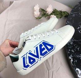 29e5324e Zapatillas de deporte de primavera 2019 hombres mujeres soprt con cordones  zapatos de cuero genuino de alta calidad as zapatos planos superiores bajos  con ...