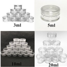 $enCountryForm.capitalKeyWord NZ - Top quaality Plastic Wax Containers Jar Box Cases Wax Holder container Food Grade Wax Tools Storage For Silicone Pipes Smoking Glass Bongs