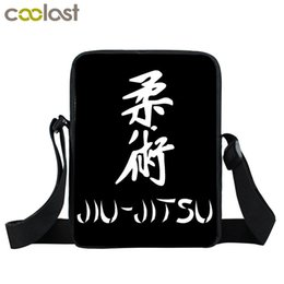 School meSSenger bagS for women online shopping - Jiujitsu Small Bags for Women Handbag Purse Judo Crossbody Bags Girls Boys Clutch D Children School Bag Mini Messenger