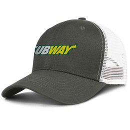 Man Woman Sign NZ - Womens Mens Flat-along Adjustable Subway sign Punk Hip-Hop Cotton Trucker Hat Summer Travel Hats Military Caps Airy Mesh Hats For Men Women