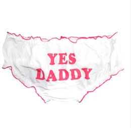 Girls ruffle underwear online shopping - Cute Sexy Laciness Bad Girl Letters Printed Lolita Underwear Women Panties Kawaii Ruffles Trim Briefs