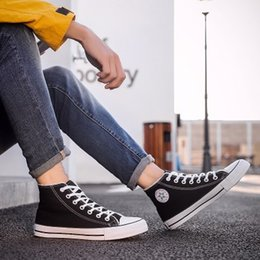 Men s fashion low shoes online shopping - Fashion Unisex Men Women High Top Low High Style Adult Women s Men s Canvas Clasic Casual Sneakers for women Board Shoes
