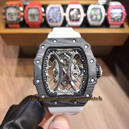 3f2fd306427 TiTanium black auTomaTic skeleTon waTch online shopping - Black Pablo Mac  Donough TPT Carbon Fiber Case