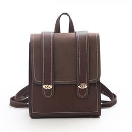 $enCountryForm.capitalKeyWord Australia - 2019 Hot Korean Version Of The New Fashion Retro Shoulder Bag Simple Casual Wild College Wind Travel Backpack Large Capacity