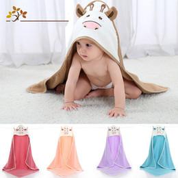 $enCountryForm.capitalKeyWord Australia - Towel Cotton Children's Hooded Cape Bath Towel Cotton Baby Baby Boy Blanket Cartoon Shape