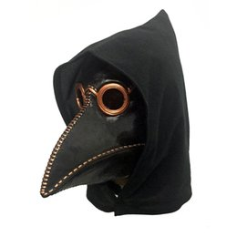 skin face masks UK - Punk Mask Crow Reaper Nevermore Skin Masks Reaper Plague Mask Birds Long Nose Punk Crow Retro Rock