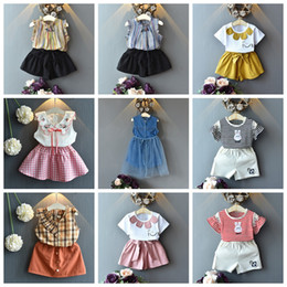 d44d9d381 12 month girl christmas outfit online shopping - 13 designs Baby girls  summer outfits striped shirt