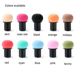 Latex Free Makeup Australia - B1005 Cosmetic Sponges with Case Set Mushroom Powder Puff Beauty Sponge Blender Face Puff Latex Free Makeup Sponges Brushes for Concealer BB