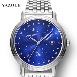 $enCountryForm.capitalKeyWord Australia - Yazole Steel Bring Wrist Watch Male Surface Quartz Watch Leisure Time Business Affairs Men's Wear Man Quartz Watch