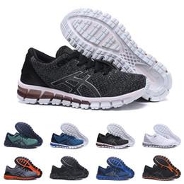 sports shoes 63bcf 8e79d 2019 Asics GEL-Quantum 360 SHIFT Stabilität Atmungsaktive Laufschuhe für  Herren Grün Schwarz Weiß Blau Herren Trainer Mode Sport Turnschuhe Läufer