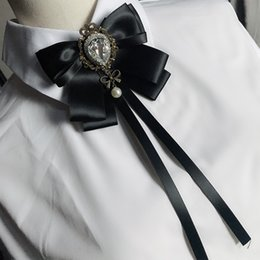 $enCountryForm.capitalKeyWord Australia - free shipping new casual WOMAN female collar suit bow tie men women jacket dress collar cravat school uniform