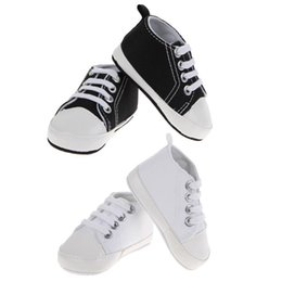 $enCountryForm.capitalKeyWord Australia - Baby Shoes Canvas Classic Sports Sneakers Newborn Baby Boys Girls Fashion First Walkers Shoes Infant Toddler Soft Sole Anti-slip