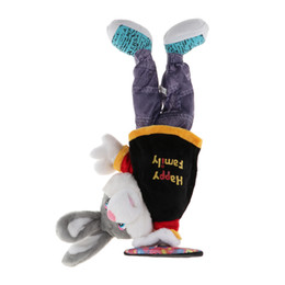 China 100% brand new 32cm Plush Animated Pet Cute Stuffed Animal Doll Singing Dancing Hip-Hop Rabbit Toy for Kids Toddler supplier stuffed rabbit toys for kids suppliers