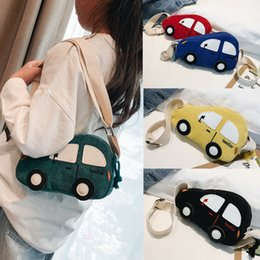 crossbody bags boys Australia - Children Crossbody Bags for Kids Baby Boys Girls Car Shape Canvas Handbags Anti Lost Shoulder Bag Handbags Mini Crossbody Bag#5$