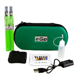 Ego T Smokes Australia - Ego-t double starter kits electronic cigarette ego CE4 510 battery e cigarette vape pen vaporizer for e liquid ce4 tank smoking vape mod