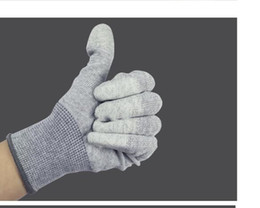 $enCountryForm.capitalKeyWord Australia - Nylon Pu Coated Gloves Anti-static Dust-free Protective Breathable Wear Protection Is Not Easy To Produce Dust-proof Rod
