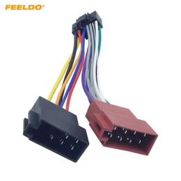 $enCountryForm.capitalKeyWord NZ - FEELDO Car Stereo Radio 16-Pin PI100 ISO Wiring Harness Adapter For Kenwood 2003-on Audio 2-Head Speaker Wire Connector Cable #5410