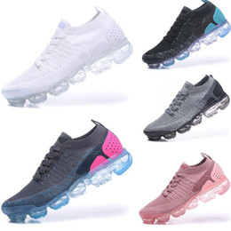 Pink boxing shoes for men online shopping - 2018 Summer New Style Fly Running Shoes For Men And Women Size Black White Without Box