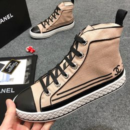 $enCountryForm.capitalKeyWord NZ - New Women Shoes Boots Ankle High Top Flats Breathable Factory Women Casual Shoes Luxury Sneaker Bottes Femmes with Origin Box Hot Sale CH05