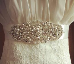 Beaded Belts For Wedding Dresses Australia - Bridal Belt 2019 New Handmade Beaded Crystal Wedding Belt Rhinestones Bridal Belt For Wedding Evening Dresses