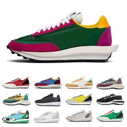 best outdoor running shoes for women 2020 - Wholesale ldv ld waffle Running Shoes for Women Men Pine Green Varsity Blue Wheat Black Womens Mens best outdoor sneaker