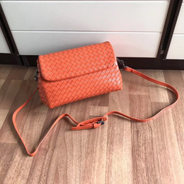 High End Hand Bags Australia - Classic hot-selling ladies handbags Italian designer cross-body bag high-end custom hand-woven soft feel Lady's mouth cover