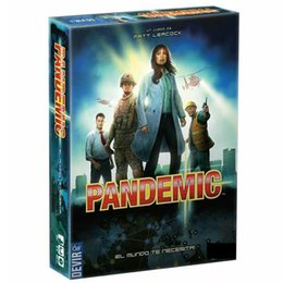 Hot Board Game Pandemic Plague Legacy Series International Award Winning Game 2-Player Family Party Strategy Games MX200414 on Sale