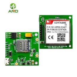 LTE CAT4 modülü kurulu SIM7600E-H, 4G LTE kedi 4 breakout kurulu, SIM7600E-H çekirdek kurulu 1 adet freeshipping indirimde
