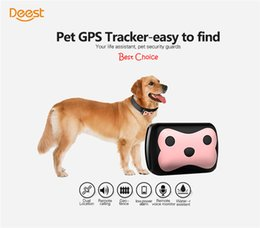 Voice Gps Australia - New Launched Deest 69 Pets GPS+ LBS Locating remote call voice remote monitoring Security Small Waterproof Pets GPS Tracker