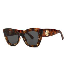 8e141496ed Luxury Square Cat eye sunglasses marca diseñador tonos de moda para mujeres  Espejo Gafas de sol Gafas de sol Gafas