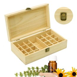 $enCountryForm.capitalKeyWord UK - wholesale 25 Slots Portable Solid Wood Storage Box Essential Oil Case Holder Aromatherapy Bottles Storage