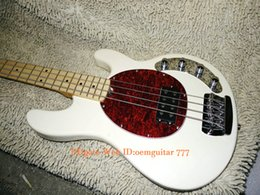maple fingerboard white Canada - Bass Guitars 4 Strings Electric Bass Maple Fingerboard OEM China Guitars Free Shipping