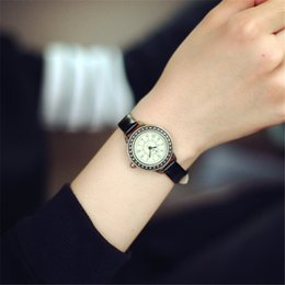 $enCountryForm.capitalKeyWord Australia - hot sale cheap casual student wrist watches female quartz analog watches 2019 Vintage small dial elegant ladies watch Factory wholesale