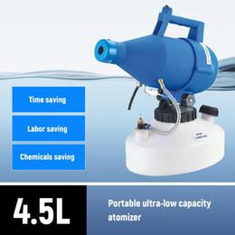 Elétrica ULV Fogger portátil Ultra-Baixo Volume atomizador pulverizador fino da névoa Blower Pesticide nebulizador 4.5L Nebulizer em Promoção