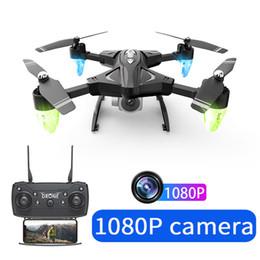 جديد rc quadcopter الطائرة بدون طيار hd كاميرا 480 وعاء / 1080 وعاء wifi fpv selfie dron المهنية طوي quadcopter 18 دقيقة البطارية يطير