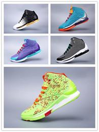 00fd9e66728 Pas cher Mens Curry un low cut chaussures de basket-ball Blanc Or  Championship MVP Jaune Noir Bleu stephen currys ceux 1 baskets bottes à  vendre