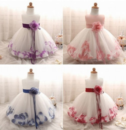 Toddler Special Occasion Australia - Summer New Style Charming Special Occasion Flower Girl Dress Princess Pageant toddler dress Baby Prom Party Children dresses