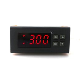 thermostat controller Canada - AC 220V 10A RC-114M Digital Temperature Controller -30~300C Thermostat Regulator Relay Output with NTC Temperature Sensor