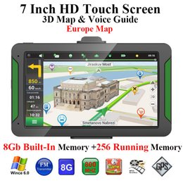 Gps Run Australia - Car Gps Navigator 7 Inch Hd Press Screen 8Gb Built-In Memory +256 MB Running Memory Driving Navigation