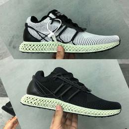 aab926c216cc6 2019 y-3 Futurecraft 4D Print 4D y3 women men running shoes sneakers  original designer brand size black white 40-45